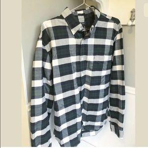 J. Crew Slim buffalo Plaid Button Down Shirt XL